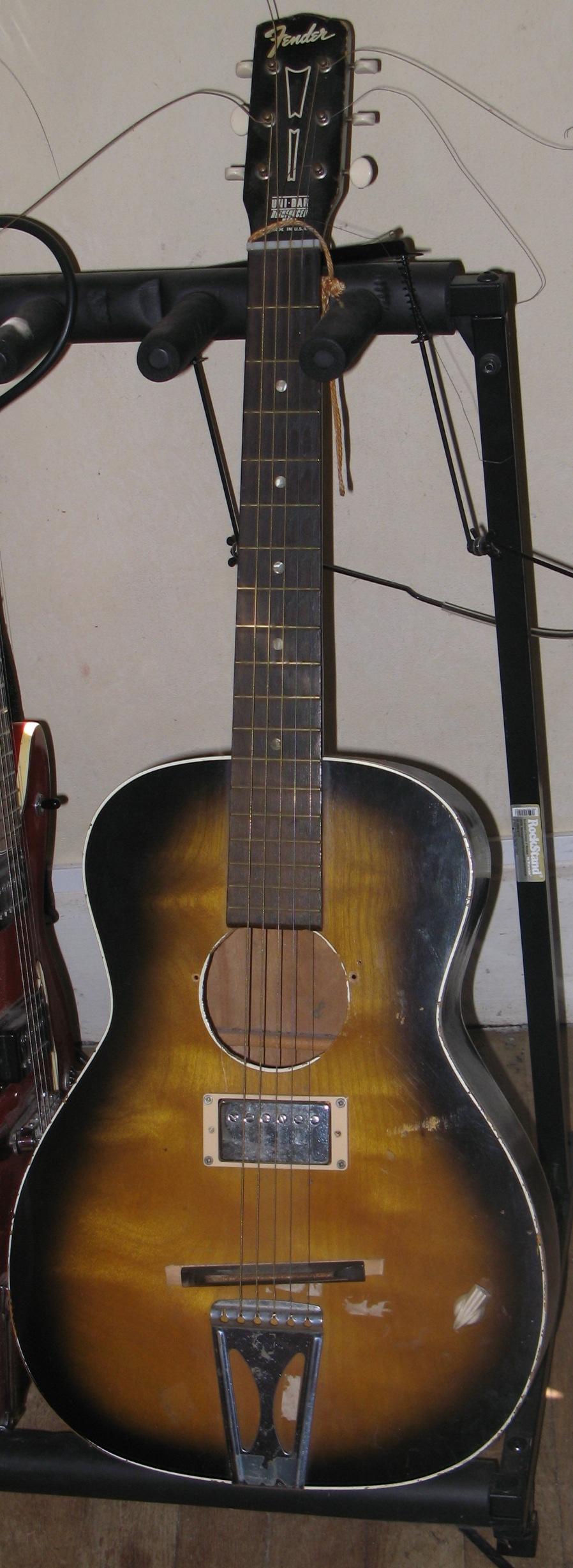 photo de guitar vintage , signature , blues et jazz  MyF